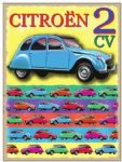 "10927 - Citroen 2 CV 6"" x 8"" Vintage Metal Steel Advertising Sign Plaque"